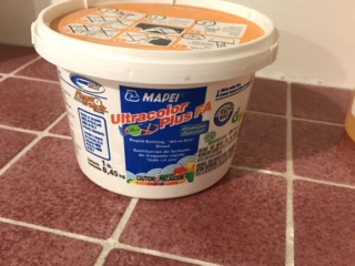 Gorilla Glue, Grout and Grout Sealer - DIY How to Fix Loose Shower Tile 4