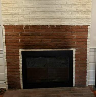 Adding Tile to a Fireplace
