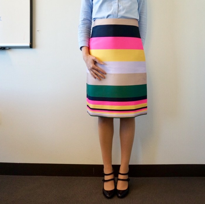 my9to5shoes.com My 9 to 5 Shoes J. Crew Pop Stripe