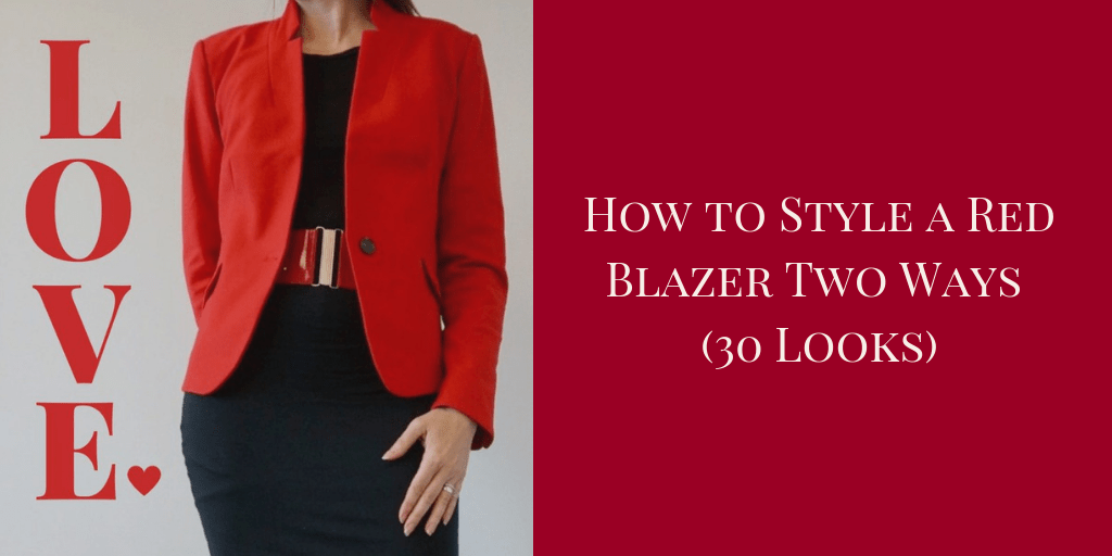 my9to5shoes.com My 9 to 5 Shoes How to Style a Red Blazer