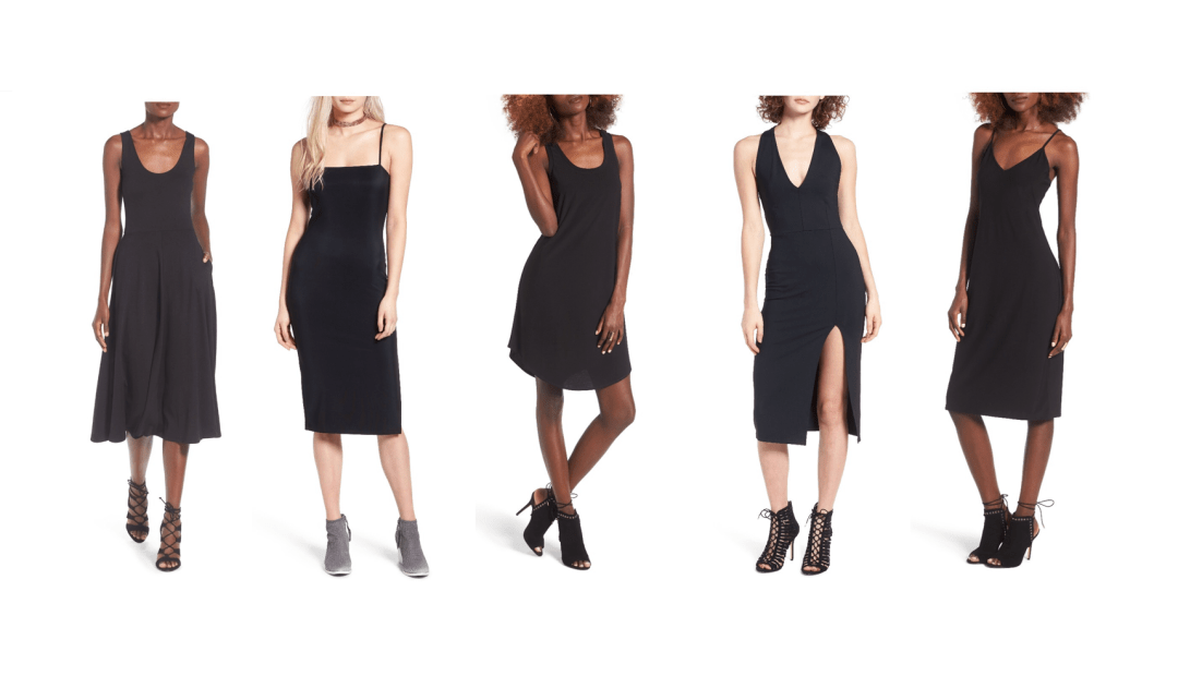 my9to5shoes.com My 9 to 5 Shoes LBD Little Black Dress 4 ways to Style