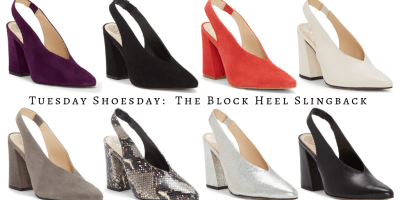 My9to5shoes.com My 9 to 5 Shoes Tuesday Shoesday The Block Heel Slingback