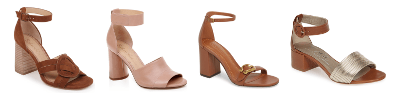 My 9 to 5 Shoes Summer Sandal Edit (the neutral ankle straps)