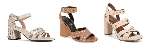 My 9 to 5 Shoes Summer Sandal Edit (studded neutrals)