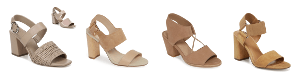 My 9 to 5 Shoes Summer Sandal Edit (the double strap neutrals)