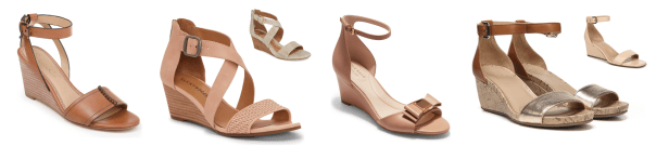 My 9 to 5 Shoes Summer Sandal Edit (the neutral wedges)