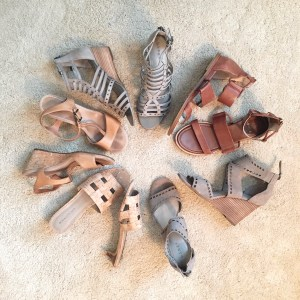 My 9 to 5 Shoes Summer Sandal Edit (in my closet)