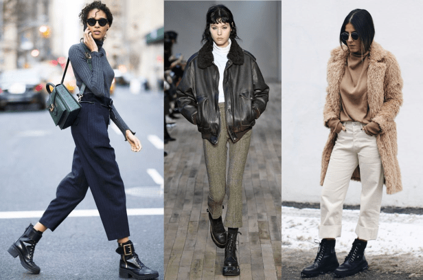 How to Style Combat Boots with Pants