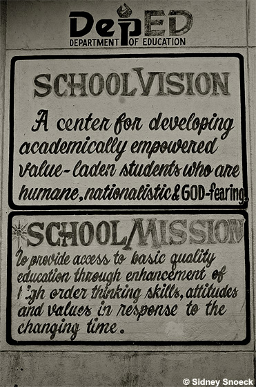 school's vision and mission