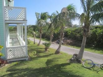 Crystal Villas Elbow Cay Vacation Rental Driveway