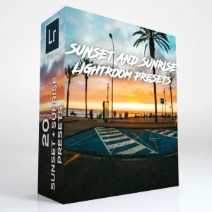 20 Sunrise & Sunset Lightroom Presets (Desktop and Mobile)