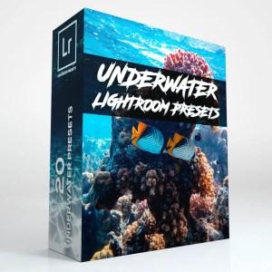 20 Underwater Lightroom Presets (Desktop and Mobile)