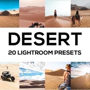 20 Desert Lightroom Presets (Desktop and Mobile)