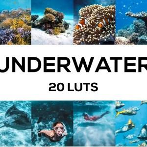 Underwater 20 LUTs Pack