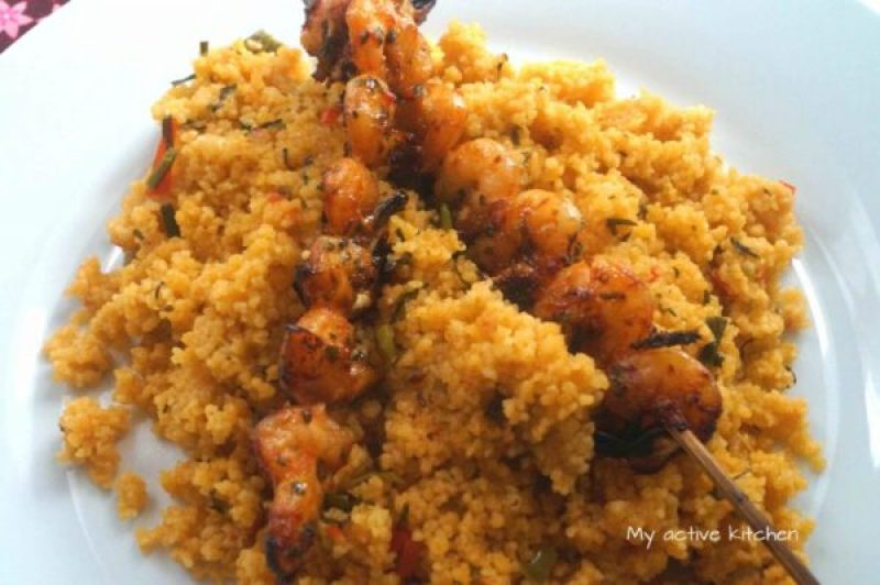 how to cook jollof couscous