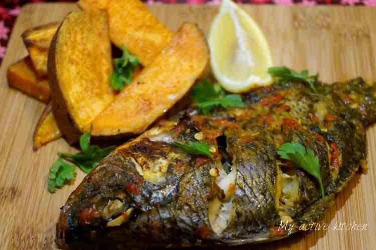 how to make roasted tilapia