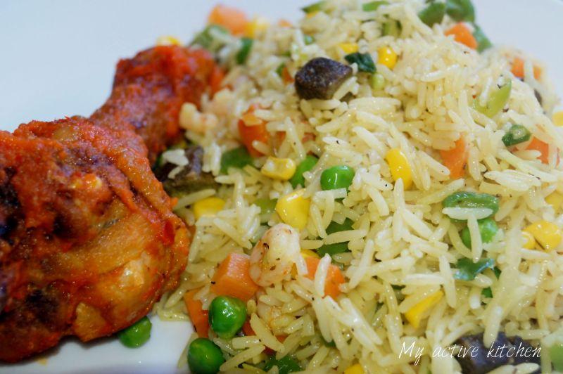 image of nigerian fried rice
