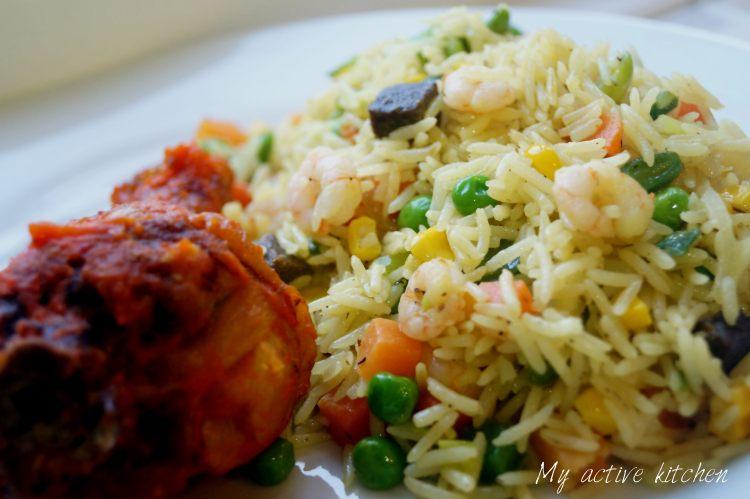 Nigerian Fried Rice - My Active Kitchen