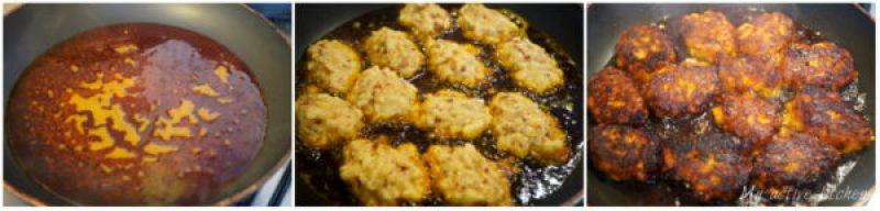 frying in palm oil