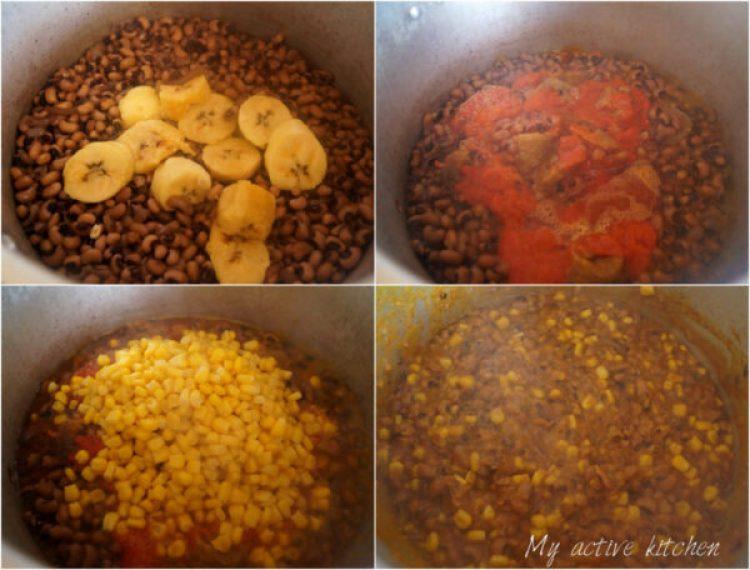 how to cook adalu nigerian recipe