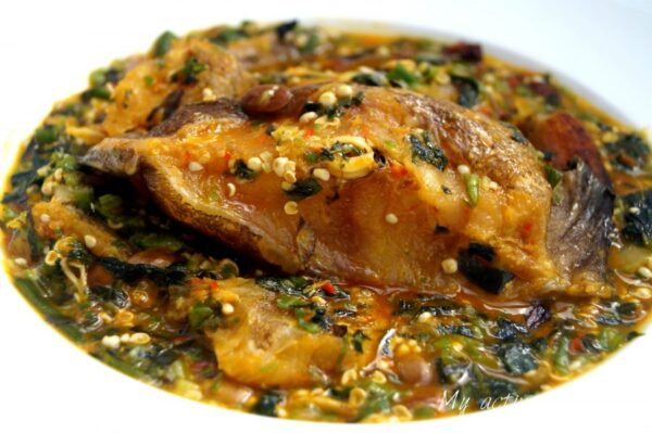 Image result for nigerian stockfish soup