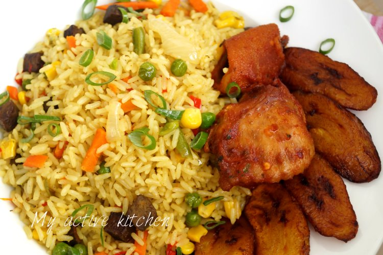 how to make nigerian coconut fried rice