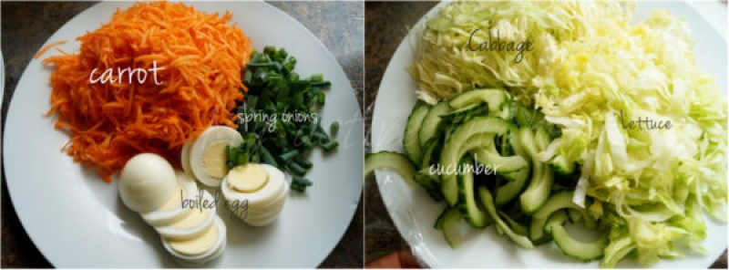 salad ingredient list