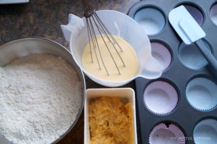 plantain muffin
