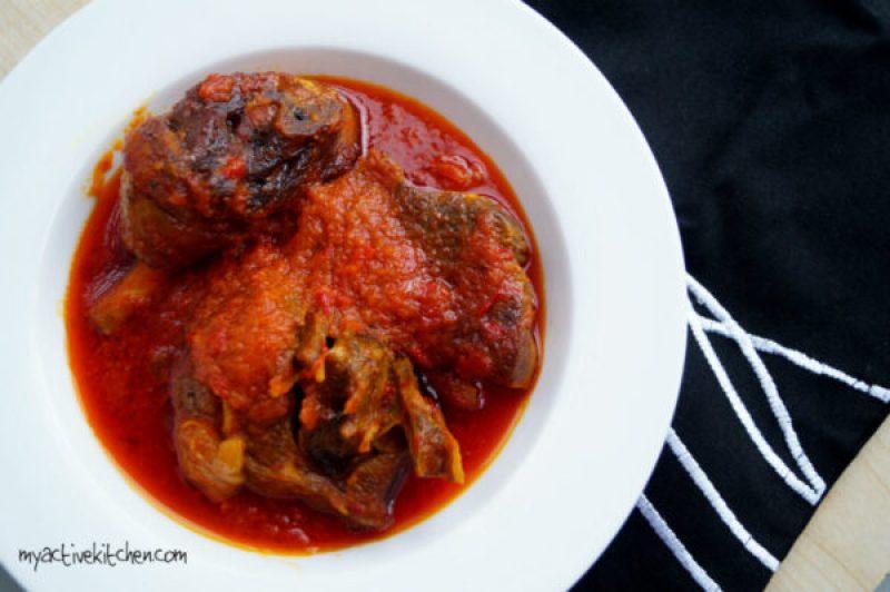 tomato-less buka stew