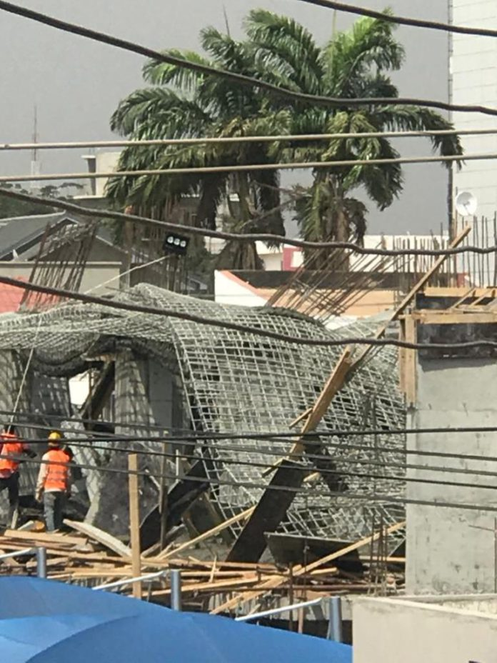 22-storey building under construction at Airport collapses
