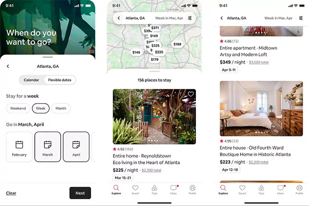 Airbnb's 'Flexible Dates' Search Focuses on Where You're Traveling, Not When
