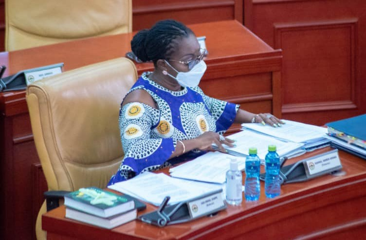 I'm not aware – Ursula Owusu 'sweats' over Akufo-Addo's law firm at vetting