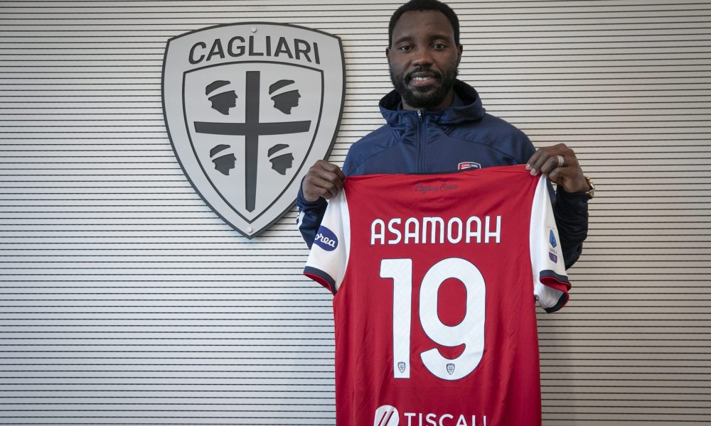 Kwadwo Asamoah joins Cagliari until end of season