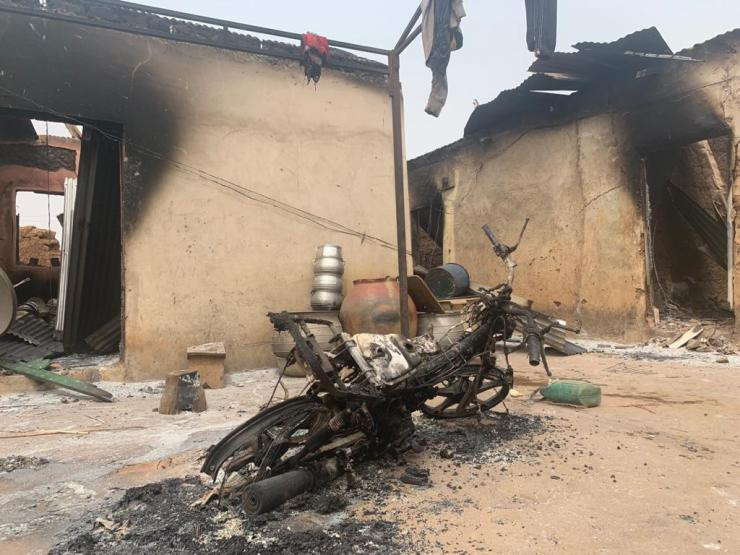 More than 30 houses, 10 motorbikes, food barns, others burnt to ashes in fresh Chieftaincy clashes