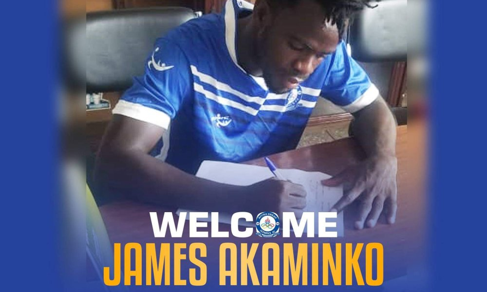 Project at Great Olympics influenced me to sign for them–James Akaminko