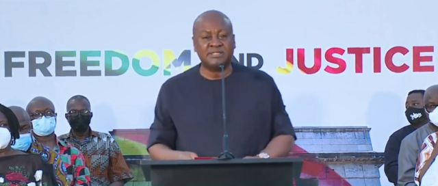 Full Text: John Mahama's Address After Supreme Court Judgement