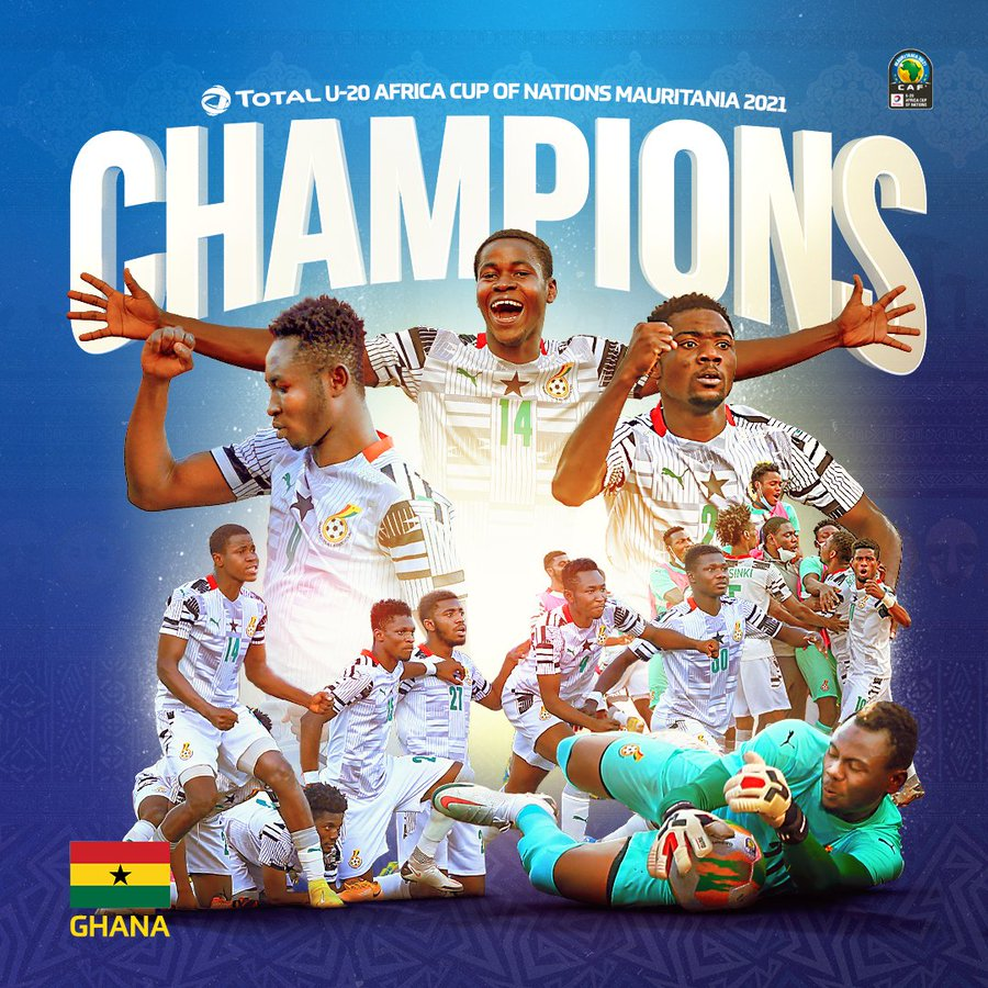 Ghana Wins 4th AFCON Title At The Expense Of Debutants, Uganda