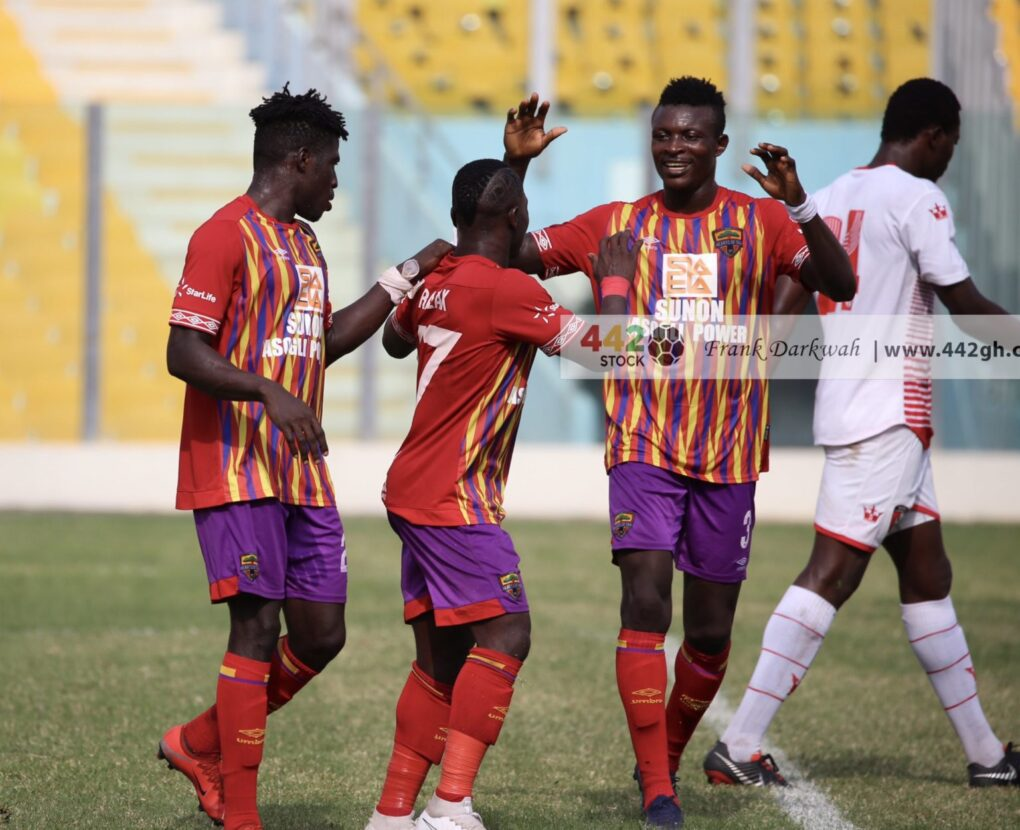 Hearts of Oak Thump WAFA 4 – 0 To Move To Third On League Table
