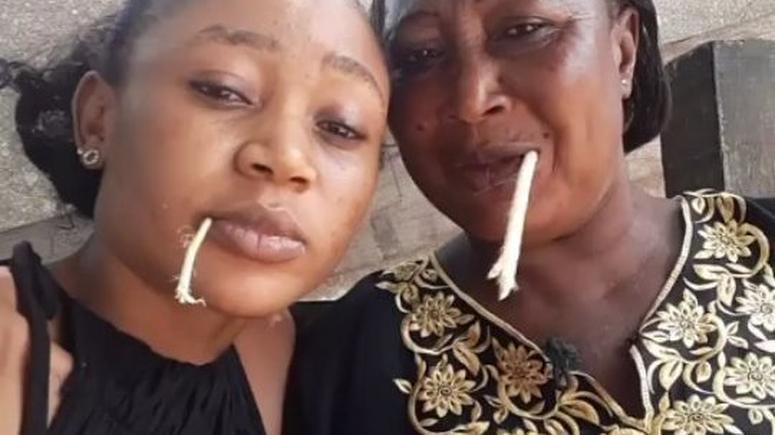 Akuapem Poloo's mother cries on live radio, begs pardon for her daughter