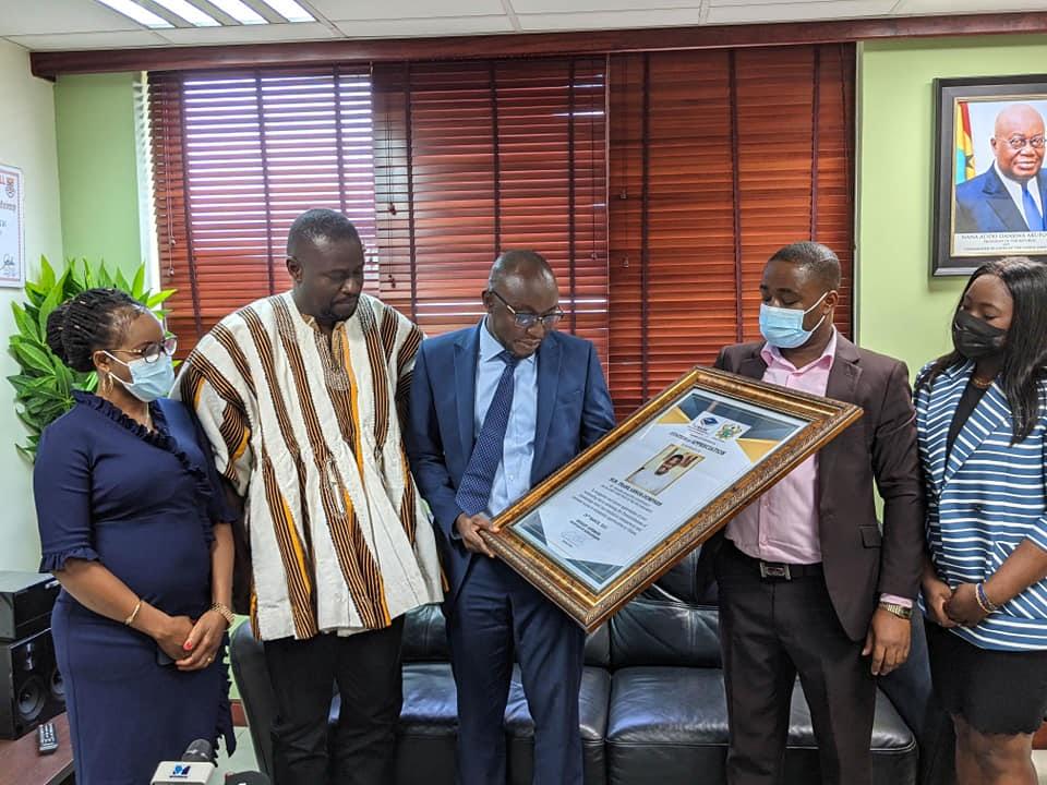 Scholarship Secretariat Honours Nsawam Adoagyiri MP