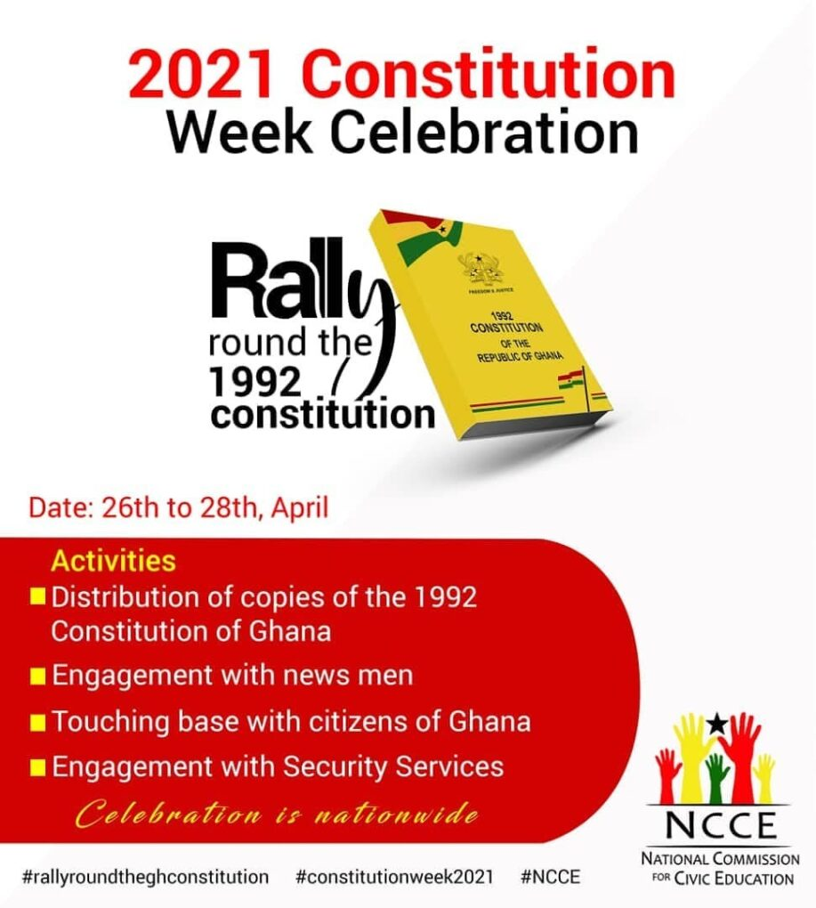 NCCE To Commemorate Constitution Week