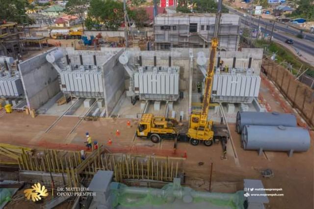 Kasoa BSP under construction