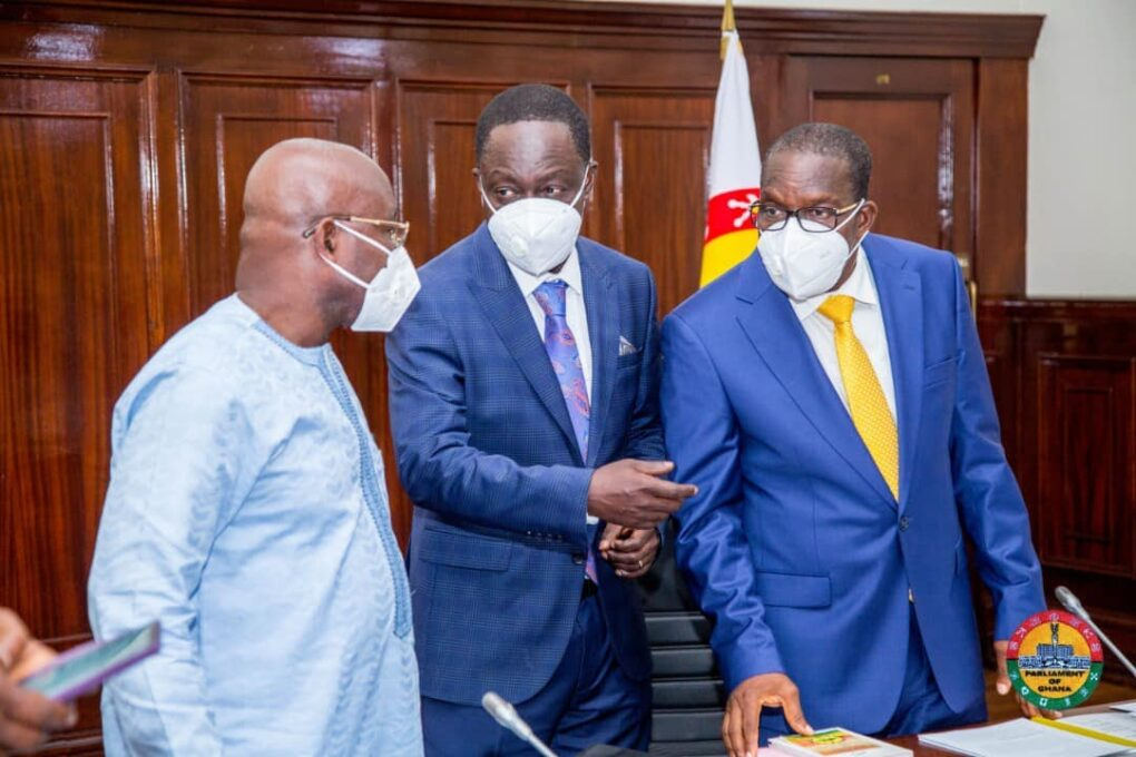 Bagbin Bemoans Parliament's Security Systems
