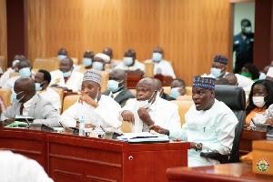 minority caucus in Ghana's parliament