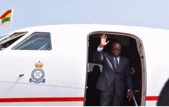 President Akufo-Addo Embarks On 9-Day Tour To Three Countries