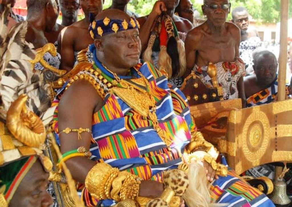 Otumfuo Pledges To Deal With Chief's Involved In Illegal Mining