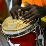 file-photo of a man drumming