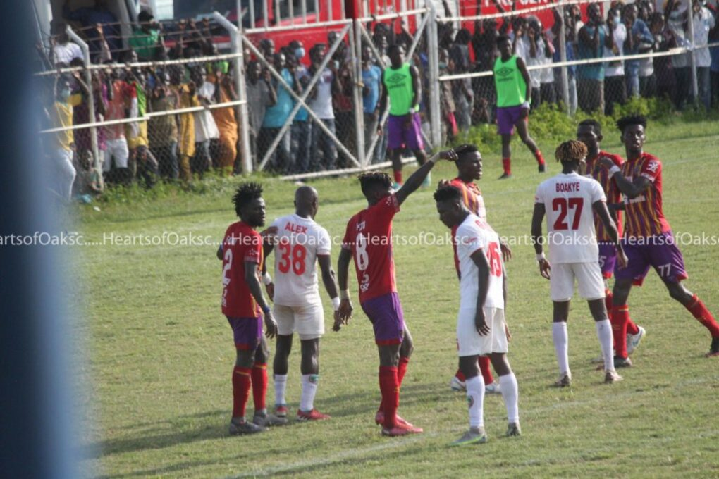 Obeng Jnr's Strike Sends Hearts To Summit Of League Table Ahead Of Kotoko
