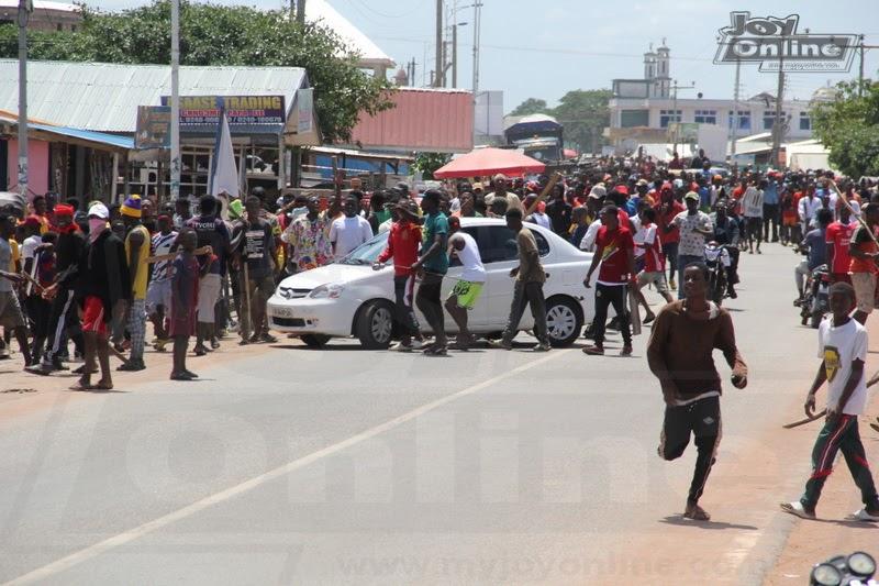 You used unprofessional methods to disperse protestors -Kontihene of Ejura
