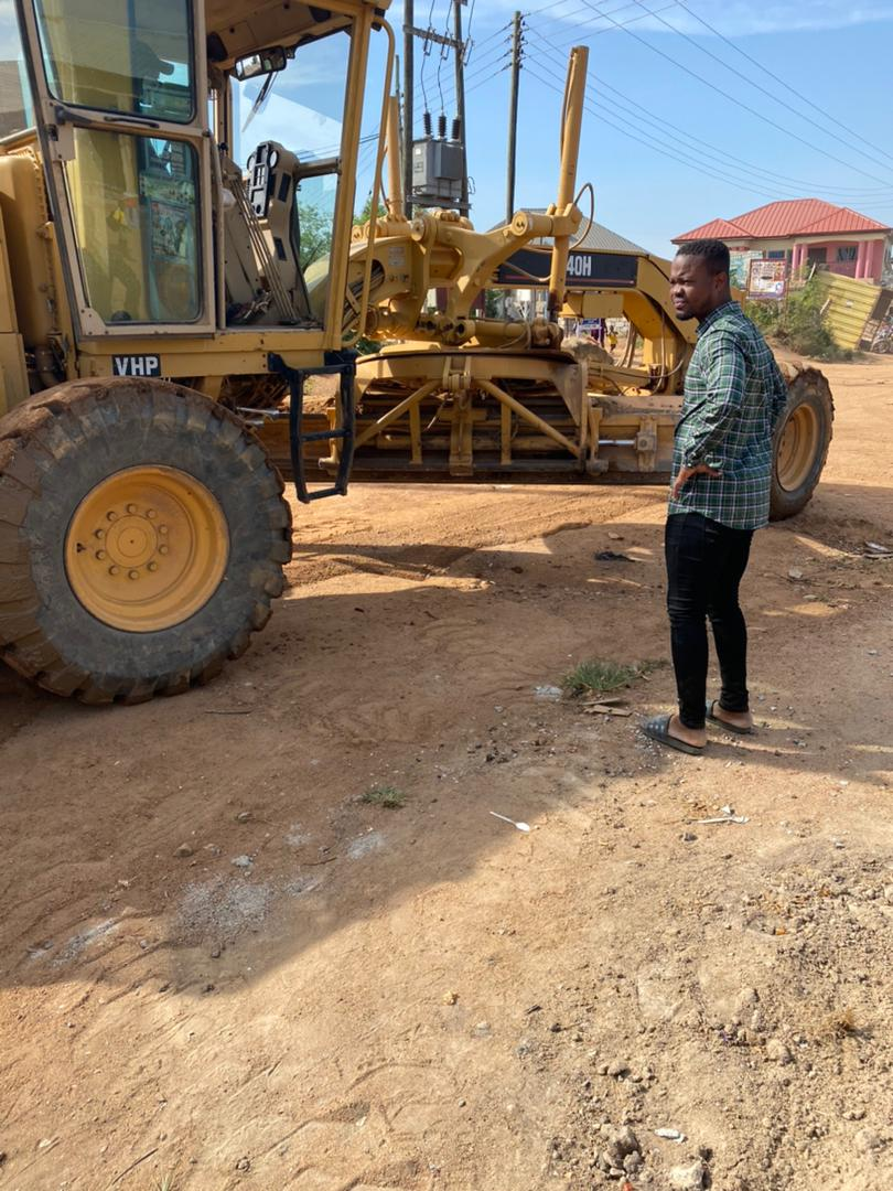 Active TV Director Hands Over Constructed Road to Odumase and Ushuiman Communities